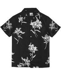 Superdry Hawaiian Box Short Sleeve Shirt - Black