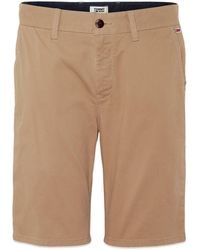Tommy Hilfiger Taupe Tommy Jeans Essential Chino Short - Natural