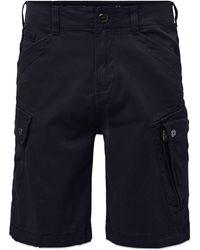 G-Star RAW Roxic Cargo Shorts - Mazarine Garment Dyed - Blue