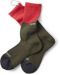 RoToTo Zero Day Hike Trek Crew Socks - Multicolor