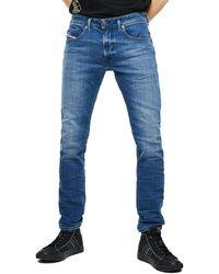 DIESEL Thommer X 97x Stretch Slim Jeans - Blue