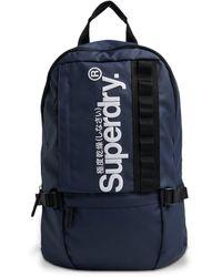 Superdry Slim Line Tarp Rucksack - Blue