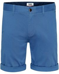 Tommy Hilfiger Tommy Jeans Essential Chino Short - Blue