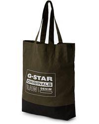 G-Star RAW G-star Canvas Shopper Bag - Black