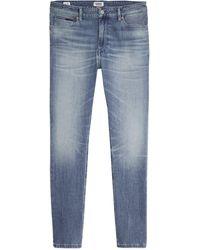 Tommy Hilfiger Jeans Simon Skinny Niels Light Blue Dynamic Stretch