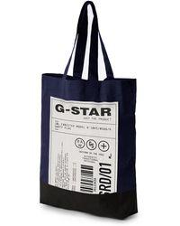 G-Star RAW G-star Canvas Shopper Bag - Blue