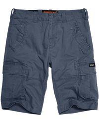 Superdry Core Cargo Shorts - Blue