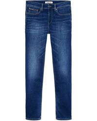 Tommy Hilfiger Scanton Slim Jeans Aspen Dark Blue Stretch
