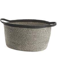 ARKET Storage Jute Basket, 29 Cm - Grey