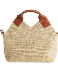 ARKET Braided Straw Tote - Natural