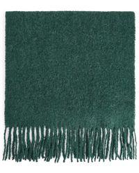 ARKET Alpaca Blend Scarf - Green