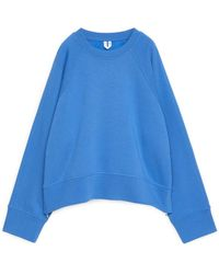 ARKET Boxy Sweatshirt - Blue