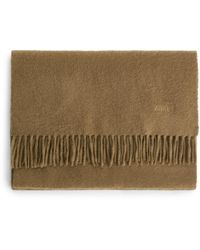 ARKET Woven Cashmere Scarf - Natural