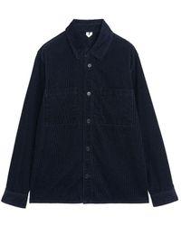 ARKET Corduroy Overshirt - Blue