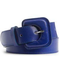 ARKET - Leather Buckle Belt - Lyst