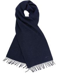 ARKET Woven Cashmere Scarf - Blue