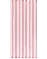 ARKET Cotton Beach Blanket - Pink