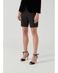 Emporio Armani Bermuda Shorts - Black