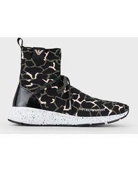 Emporio Armani Sneakers - Black