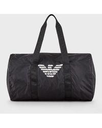 Emporio Armani Duffel Bag - Black