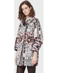 Emporio Armani Caban Coats - Multicolore