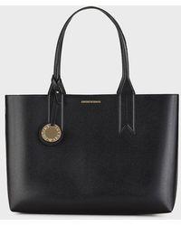 Emporio Armani Shopping Bag - Black