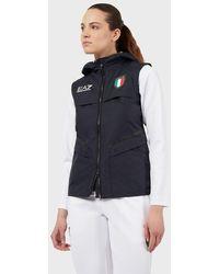 Emporio Armani Gilet de l'équipe italienne des jeux olympiques de Tokyo 2020 - Bleu