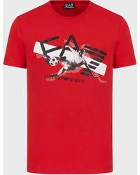 Emporio Armani T-shirts - Red