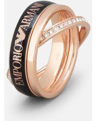 Emporio Armani | Ring | Lyst