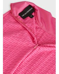 Emporio Armani Knitted Top - Pink
