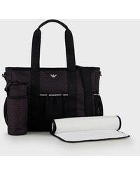 Emporio Armani Diaper Bag - Black
