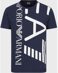Emporio Armani T-shirts - Blue
