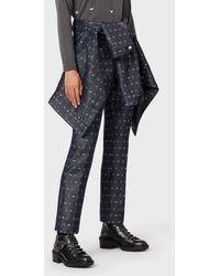 Emporio Armani Straight Jeans - Blue