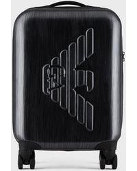 Emporio Armani Rolling Suitcase - Gray