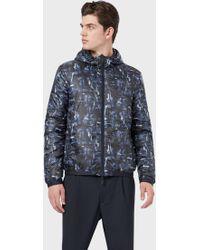 Emporio Armani Blouson Jackets - Blu