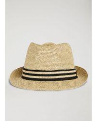 Emporio Armani - Fedora Hat - Lyst
