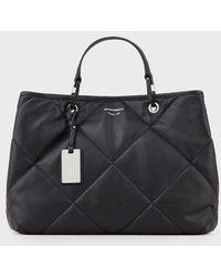 Emporio Armani - Shopper MyEA Bag trapuntata - Lyst