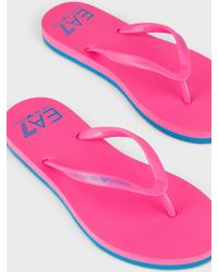 Emporio Armani Slides - Pink
