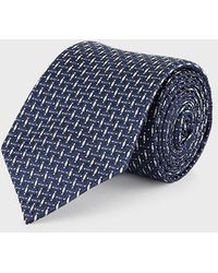 Emporio Armani Tie - Blue