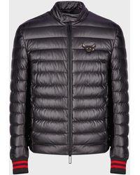 Emporio Armani Puffer Jackets - Black