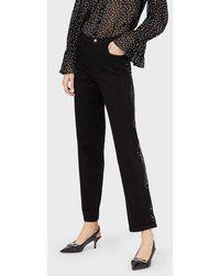 Emporio Armani Regular Jeans - Black