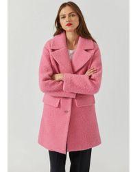 Emporio Armani Coat - Pink