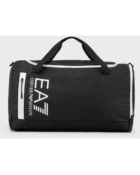 Emporio Armani Grand sac avec logo - Noir