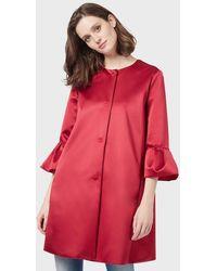Emporio Armani Caban Coats - Rosso