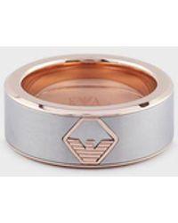 Emporio Armani Ring - Mettallic