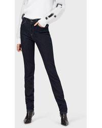 Emporio Armani Jeans J18 in Skinny Slim Fit - Blau