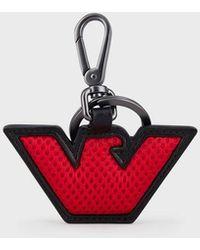 Emporio Armani Key Chain - Red