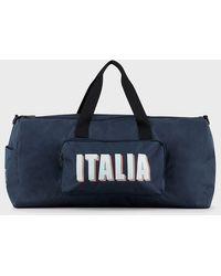 Emporio Armani Gym Bag - Blue