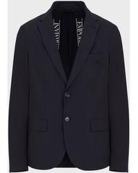 Emporio Armani - Casual Jackets - Lyst