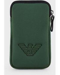 Emporio Armani Funda para iPhone - Verde